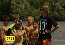 Сюжет телеканала 1+1 про спортивный лагерь AXS wake school