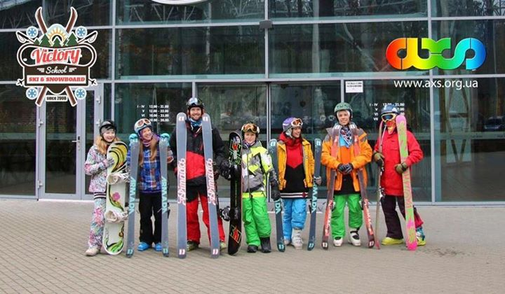 Victory freeski & snowboard camp 2016