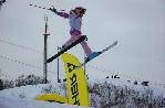 Детский фристайл на лыжах